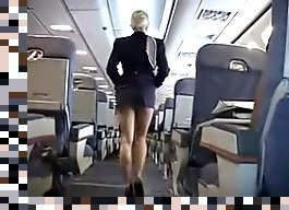 stewardess handjob